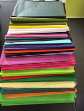 Posten Seidenpapier, Bastelpapier , 200 Bogen 50x75 cm diverse Farben