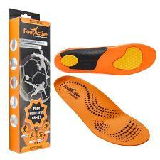 FootActive Fußball - Biomechanische Einlegesohlen für Fußball, Hockey, Radsport