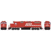 Athearrn ATHG65500 GP39-2 w/ DCC & Sound SOO Red #4599 Locomotive HO Scale