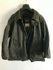 Mens Barbour Bedale wax jacket Blue coat 48in size Large / Extra Large L/XL