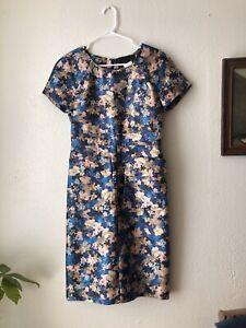 BNWT J Crew Artsy Floral Silk Dress - Dolce Gabbana Style