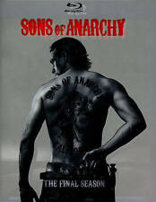 Sons of Anarchy: The Final Season (Blu-ray 2015 4-Disc Set) w/slipcover NEW
