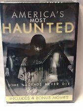 America's Most Haunted + 4 Bonus Movies DVD New