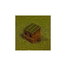 abri jardin 3 (PEINT) - N GAUGE modèle résine – Unit Models n-057p - F1