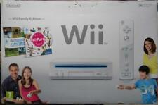 NINTENDO CONSOLE WII FAMILY EDITION BUNDLE WII SPORTS WII PARTY PACK