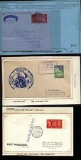 More details for 1949-1978 curacao - ship mail & paquebot- cover lot of six