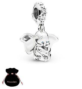 Authentic Pandora Disney Dumbo Elephant Pendant Charm Silver S925 ALE 797849CZ
