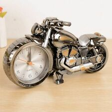 Creative Cool Motorbike Design Alarm Clock Table Decoration