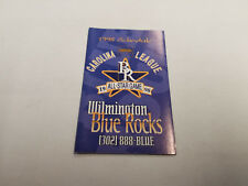 Wilmington Blue Rocks 1998 Minor Baseball Pocket Schedule - Grotto Pizza