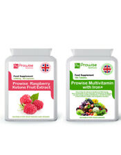 Cetonas De Frambuesa + Multivitaminas comprimidos Reino Unido fabricado para GMP Garantizada