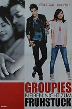 GROUPIES BLEIBEN NICHT ZUM FRÜHSTÜCK - A3 Poster (42 x 28 cm) - Kostja Ullmann