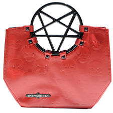 Kreepsville 666 Pentagram Handle Purse Bag Red Pentagram Bag Kreepsville Purse