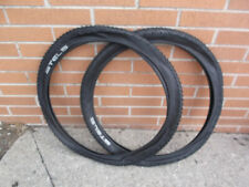 24 x 1.95 mountain bike bicycle tires pair 2 pack
