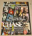 "1997 Chase #1 Dealer Advertisement Promo Poster 17"" x 22"" DC Comics"