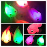 Bathroom LED Light Fish Kids Toys Water Induction Waterproof In Tub Bath Time