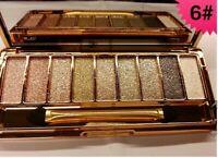 New 9 Diamond Colours Glitter Sparkle Eyeshadow Palette 06 Makeup Eye-shadow Set