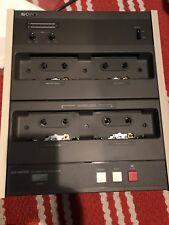 Demo SONY CCP-1300RFD Standard Cassette Reformatter / Duplicator