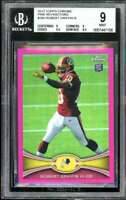 Robert Griffin Rookie 2012 Topps Chrome Pink Refractors #200 BGS 9 (9 9 9.5 8.5)