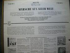 Märsche aus aller Welt  Phlips LP Musikkorps der königl. Niederländischen Marine