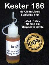 15ml 5oz Kester 186 Rma No Clean Liquid Rosin Flux For Soldering