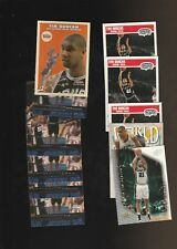 Tim Duncan Spurs Basketball Card Lot Fleer Skybox Z-Force + 2 Rookies
