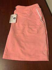 NWT Footjoy women's Performance Golf Skort Large or XL Pink MSRP $85 23865