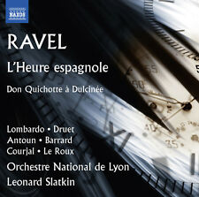 Ravel / Le Roux / Or - L'heure Espagnole & Don Quichotte a Dulcinee [New CD]