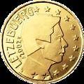 LUXEMBOURG - pièce de 50 cts d' euro 2004 - TTB