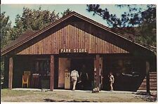Store Hartwick Pines State Park Grayling MICHIGAN MI Postcard Unused Free SHIP!
