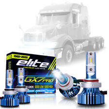 LED Pro Conversion Bulb Kit for Freightliner Columbia Headlights Lamp Low + High