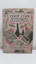 Ransome: Coot Club, Jonathan Cape 1942, 8th w dj