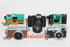 Takara Tomy Fuji Film Camera XT1 XA1 keychain figure gashapon (full set 5 pcs)