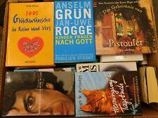 44 Bücher Hardcover Romane Sachbücher verschiedene Themen Paket 12