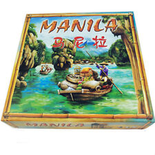 Manila Board Cards Game For 3-5 People Play Poker Table Toys Game Family Party