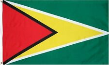 Guyana National Country Outdoor Flag - 3 ft x 5 ft Polyester w/ Brass Grommets