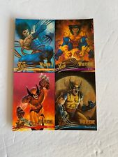 1996 Fleer Ultra X-Men Wolverine 5x7 Uncut Marvel Primo Sheet Print