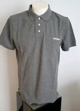 Disquared 2 Gris Polo Shirt Taille L RRP £ 115