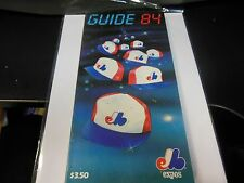 1984 MONTREAL EXPOS MLB BASEBALL OFFICIAL MEDIA GUIDE ROSTER BOOK RARE