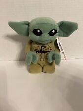 "Disney Star Wars Mandalorian Baby Yoda The Child LEGO 7"" Plush Toy NEW"