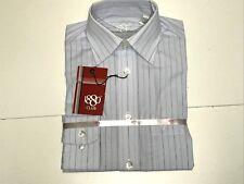 1880 Club New Boys Kids BLUE BUTTON DOWN STRIPED DRESS SHIRT 9/10 RTL: $70 Q658