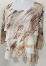 Coldwater Creek Womens Size XL (16) Knit Top