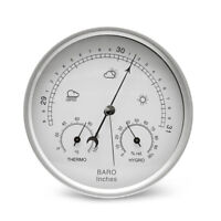 3in1 Barometer Thermometer Hygrometer Dial Type Wall Mounted Weather Station