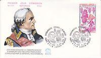 Enveloppe 1er jour FDC n°1171- 1980 - Newport de Rochambeau