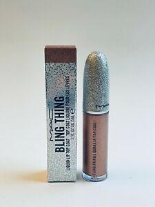 MAC Bling Thing Liquid Lip Top Coat DELICIOUSLY DISRUPTIVE 0.17 Oz New In Box