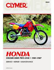 CLYMER HONDA CR250R-500R PRO-LINK 1981-1987 (M443)