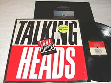 "Talking Heads ""True Stories"" 1986 Rock LP, Nice EX!, Orig Sire, Shrink+ 2 Hypes"