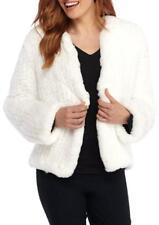 THE LIMITED® XL White Faux Fur Edge-To-Edge Jacket NWT $199