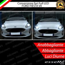 KIT FARI FULL LED FORD FIESTA 7 VII ANABBAGLIANTI H7 + ABBAGLIANTI / DIURNA H15