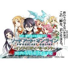 Used PSP Pre-order PSP Sword Art Online : Infinity Momentjapan Import