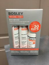 BOSLEY REVIVE Color Starter Kit for Visibly Thin Hair, Shampoo, Cond, Treatment